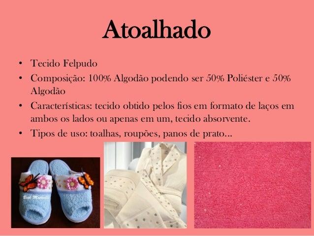 Mostruário de tecidos Slide 2