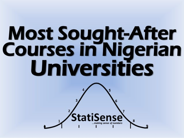 Most Sought-After Courses in Nigerian Universities