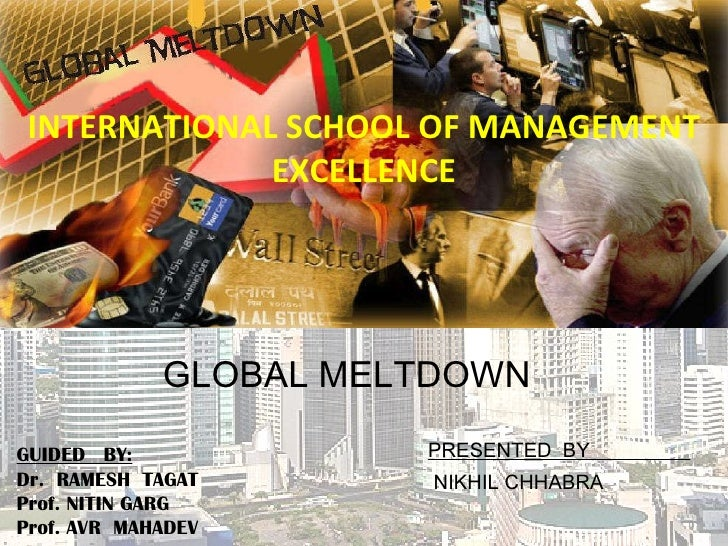 INTERNATIONAL SCHOOL OF MANAGEMENT EXCELLENCE PRESENTED  BY  NIKHIL CHHABRA GUIDED  BY: Dr.  RAMESH  TAGAT Prof. NITIN GAR...
