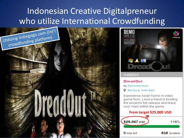 Crowdfunding in Indonesia  Ministry of Tourism and Creative Economy
