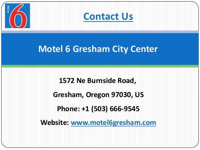 Motel  Gresham Or