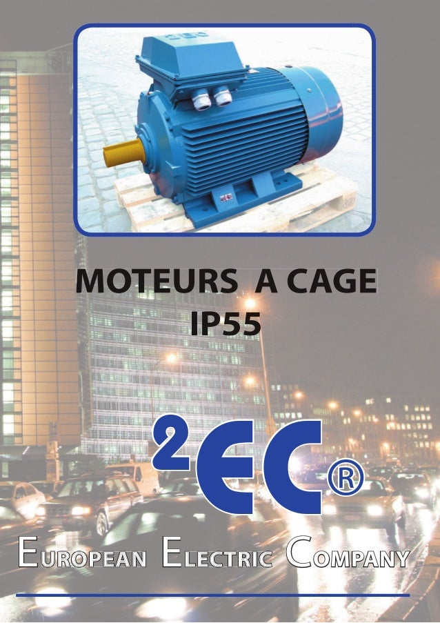 MOTEURS A CAGE        IP55        2           EC®EUROPEAN ELECTRIC COMPANY