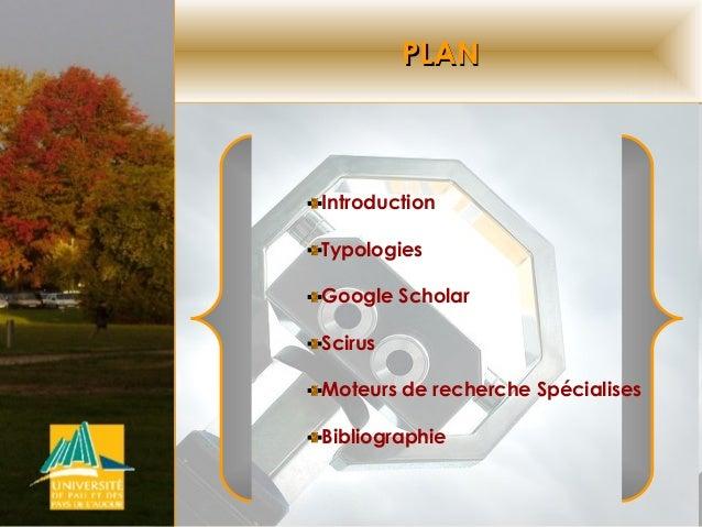 Moteurs de recherche de l'information scientifique Slide 2