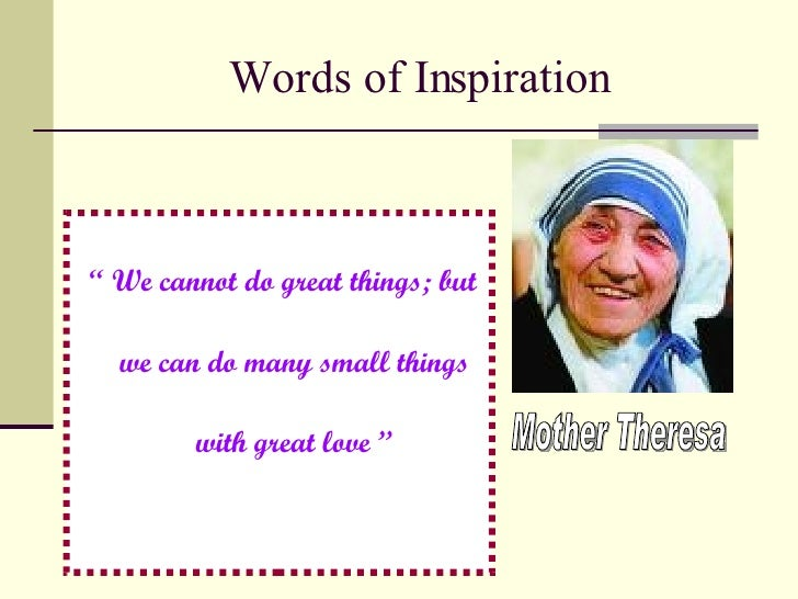essay of mother teresa in english Mother essay 1 (100 words) a mother is the most precious person in the life on everyone about which we cannot describe completely in the words.
