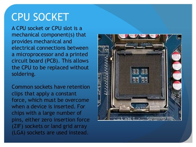 Motherboard And Its Components