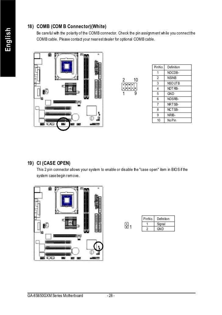 Gigabyte GA-8S650GXM-P-C (Rev 1.x) F7 Driver Download
