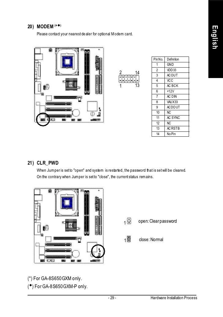 8S650GXM VGA DRIVER