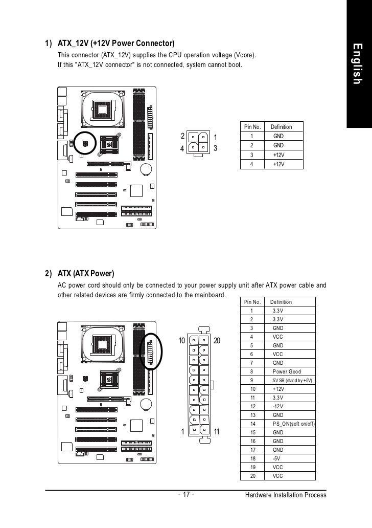 motherboard manual ga