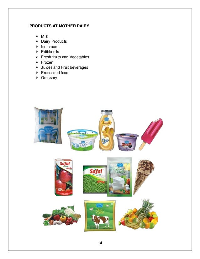mother dairy ppt