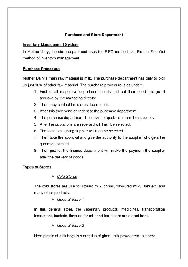 Beautiful Dairy Management Resume Collection - Administrative ...