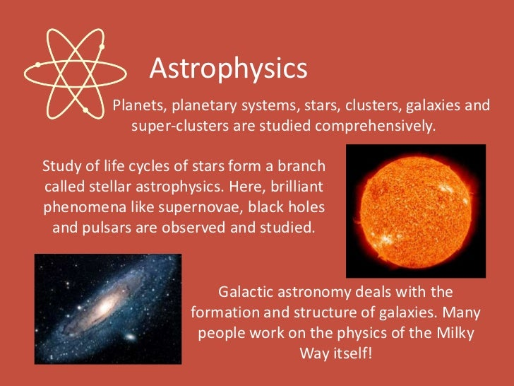 What are the branches of astronomy?