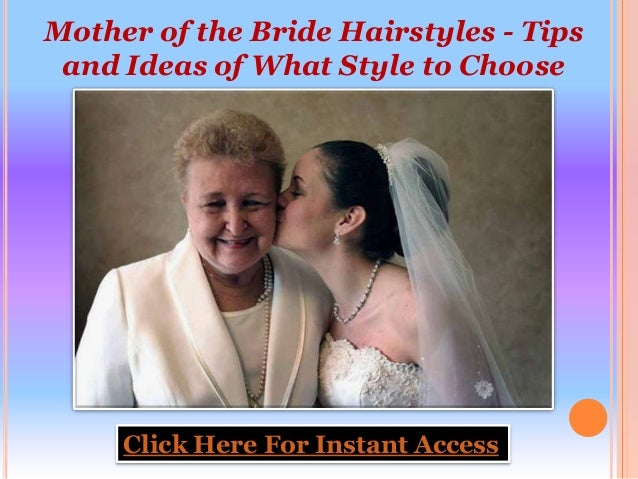 Wedding Hairstyles Mother Of The Bride: Mother Of The Bride Hairstyles