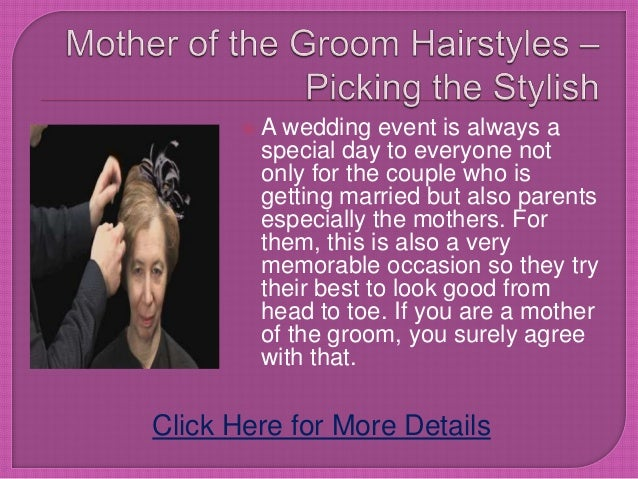 Fantastic Mother Of The Groom Hairstyles Picking The Short Hairstyles For Black Women Fulllsitofus