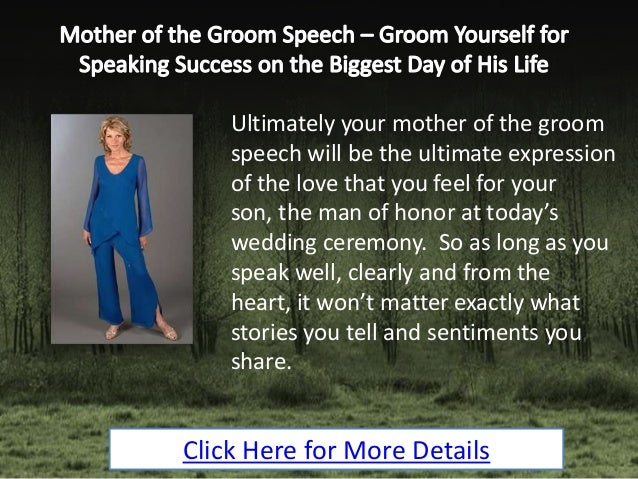 How Long Should A Grooms Speech Be: Groom Yourself For Speaking