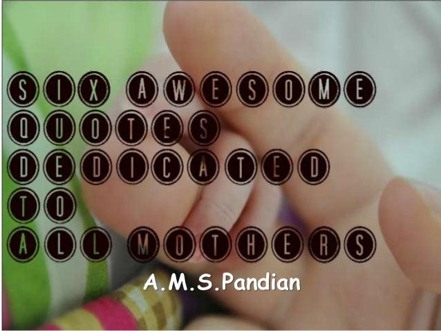 A.M.S.Pandian