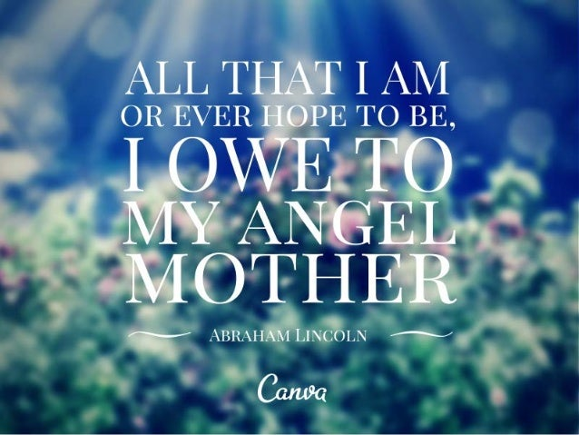 10 Inspirational Quotes for Mother's Day Slide 2