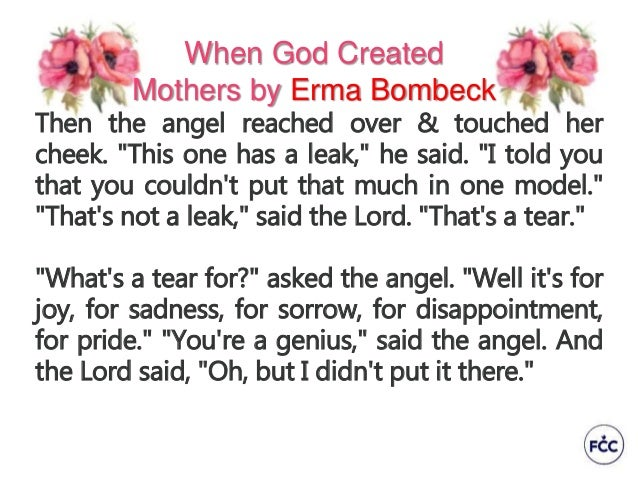 The New Erma Bombeck