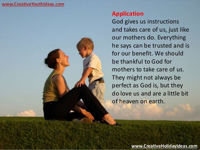 Mothers Day Activities - Sayings of Mothers