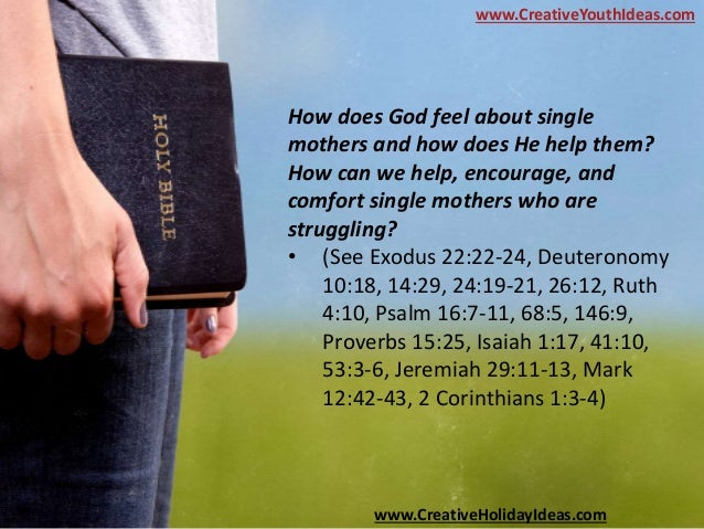 """jeremiah single parents Single parenting 1 biblical  """"i am a single parent,  t comfort—(jeremiah 29:11) 2 hanging-on— the """"hanging-on"""" single parent."""