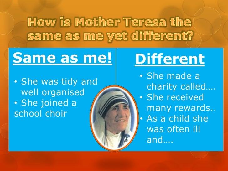 Mother teresa! Slide 3