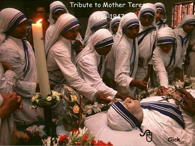 8 Click Tribute to Mother Teresa 1910-1947