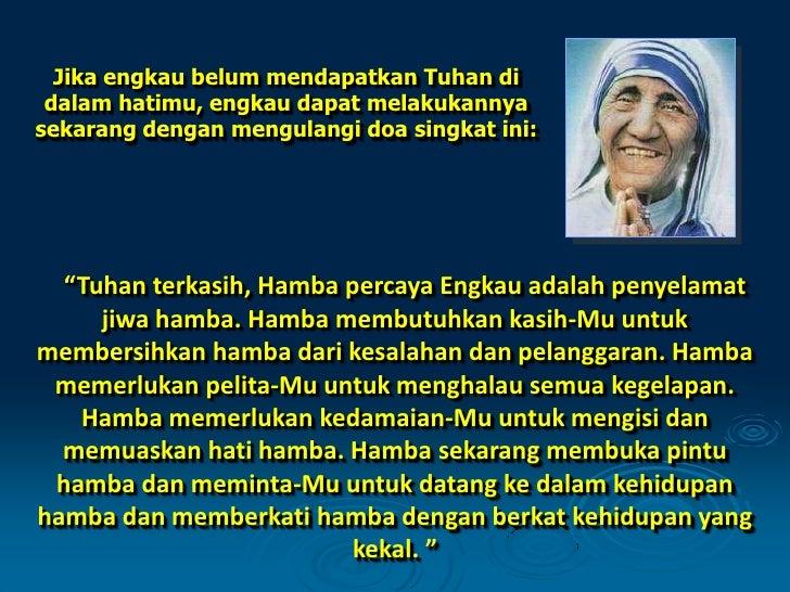 Inspirasi Bunda Teresa
