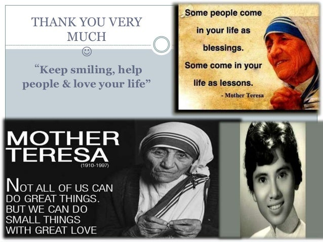 psychological development mother teresa Charity worker mother teresa (1910 - 1997), seen in her hospital around the time she was awarded the templeton prize for progress.