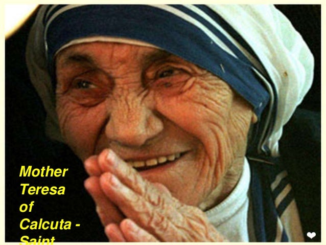 Mother Teresa Of Calcutta Saint