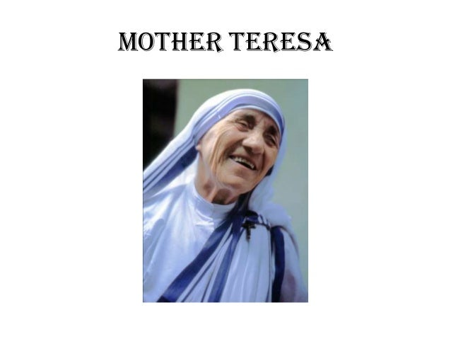 Excellent Topics Ideas for Your Mother Teresa Essay