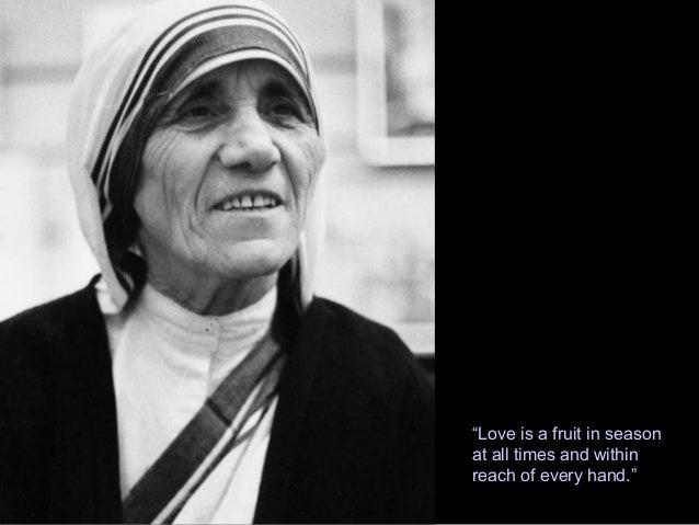 Mother Teresa Essay