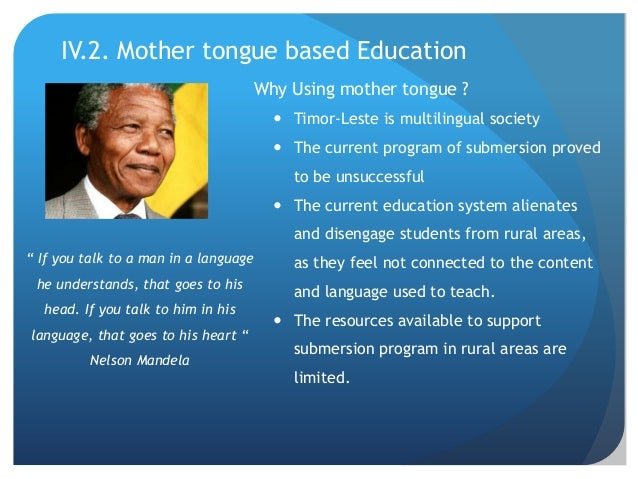 Mother Tongue Based Education As The Aplication Of Critical Pedagogy