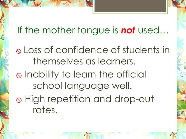 "write an essay about your mother tongue Read this essay specially written for you on ""mother tongue"" in hindi language home  related essays: sample biography of ""mother teresa"" in hindi."