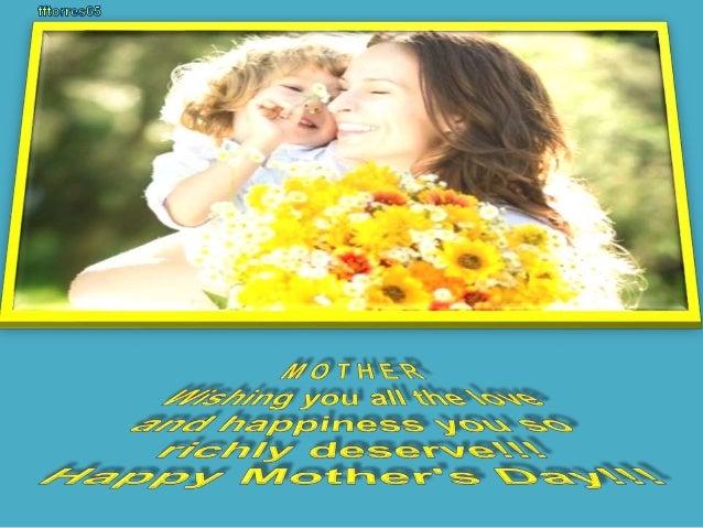 Mother, wishing you