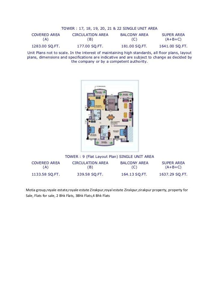 2 3 4 Bhk Luxury Flats In Royal Estate Zirakpur Gt Gt 9356667007