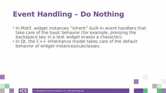 Porting Motif Applications to Qt - Webinar