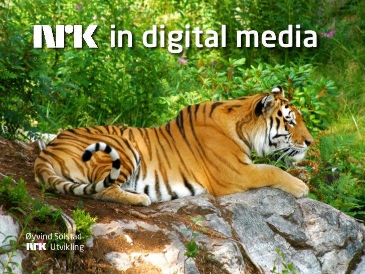 in digital media     Øyvind Solstad       Utvikling