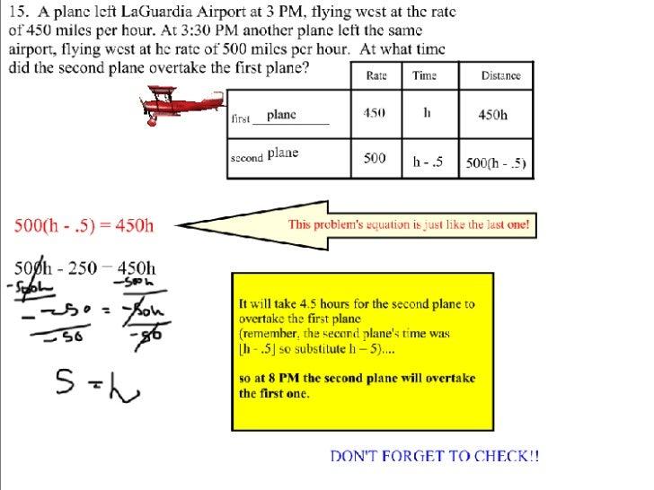 Motion Problems Slide 3