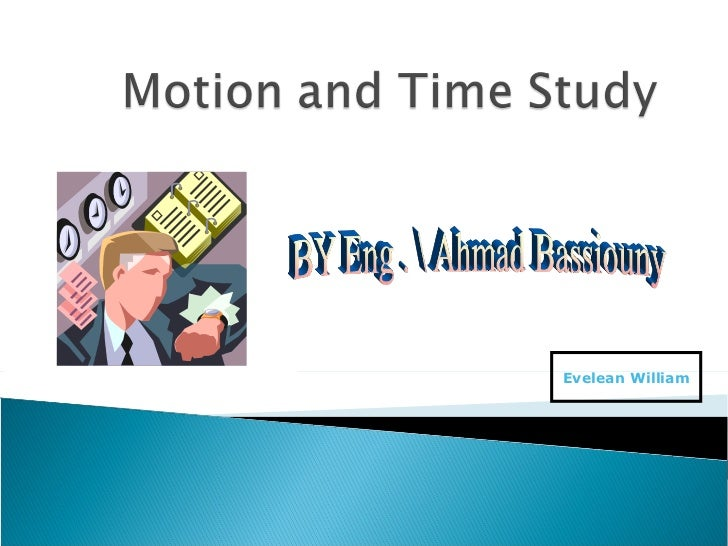 Time and motion study courses