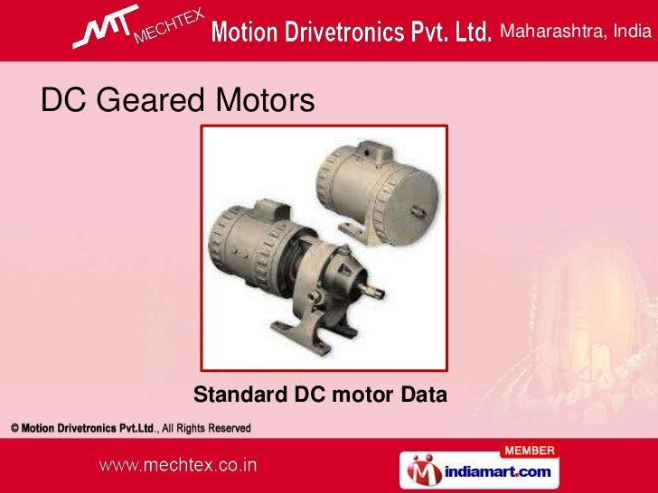 Synchronous Motors manufacturers Maharashtra India