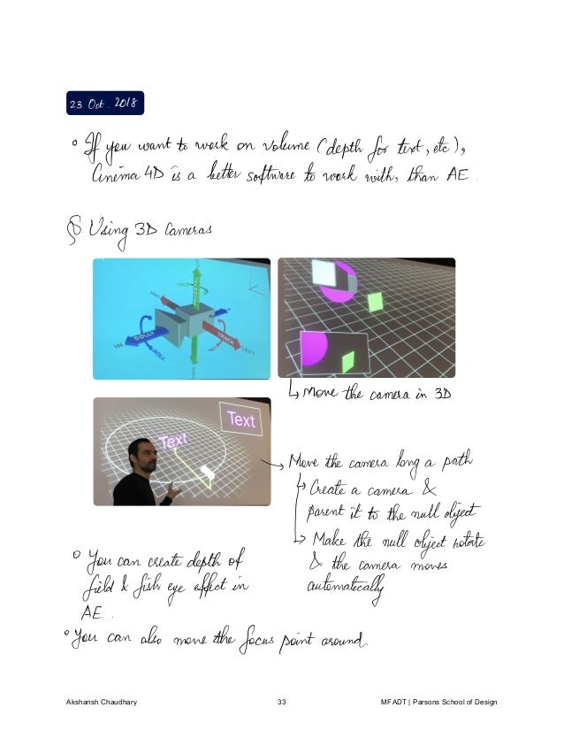 Motion Graphics Notes - Akshansh Chaudhary