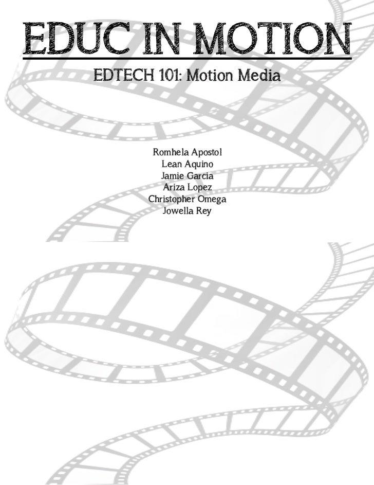 Handout: Motion Media