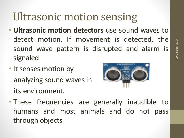 ultrasonic motion sensor It detects the motion at certain distance using arduino program and ultrasonic sensor and triggers the speaker when some person come in front of sensor, it displays.