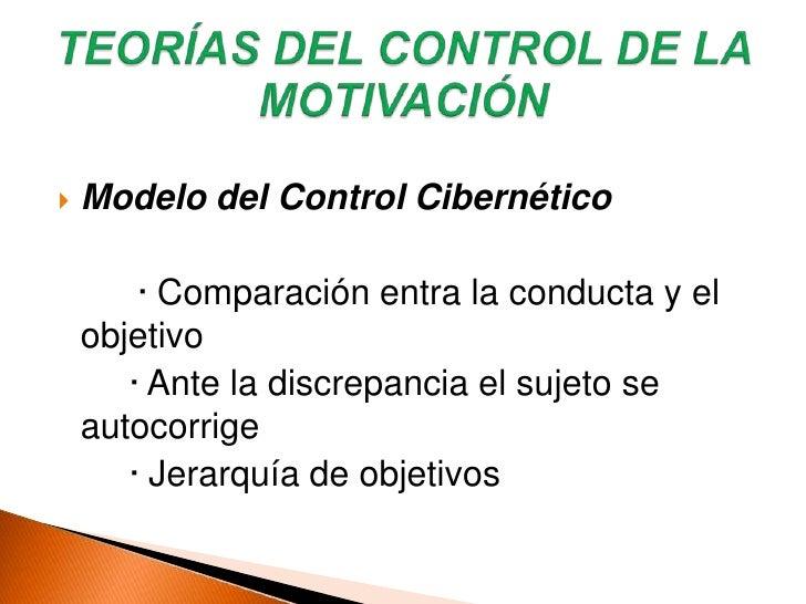 Kanfer  y col. Las diferencias individuales en la capacidad de autorregulación pueden deberse a elementos motivacionales ...