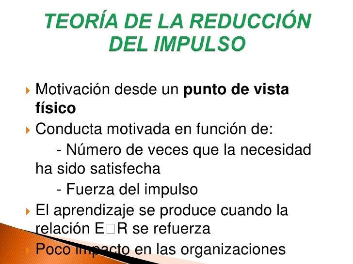 Enfoque simplista de la motivación</li></ul>TEORÍA DEL ESTABLECIMIENTO DE METAS/OBJETIVOS<br />