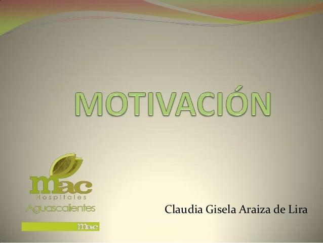 Claudia Gisela Araiza de Lira