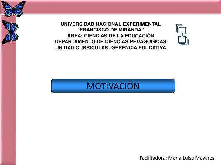 """UNIVERSIDAD NACIONAL EXPERIMENTAL<br />""""FRANCISCO DE MIRANDA""""<br />ÁREA: CIENCIAS DE LA EDUCACIÓN<br />DEPARTAMENTO DE CIE..."""