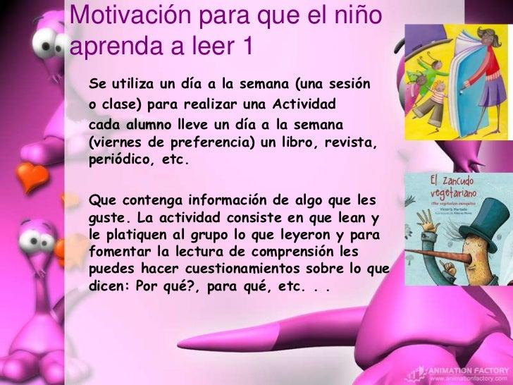 Motivacion Para Niños