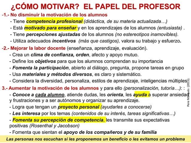 FORMADOR ESTUDIANTES CONTENIDOS OBJETIVOS RECURSOS TIC y otros (informar + orientar + motivar) evaluación interacción plan...