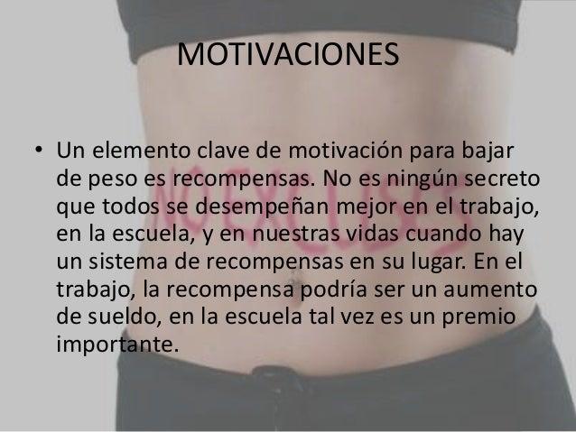 Com motivarse para bajar de peso