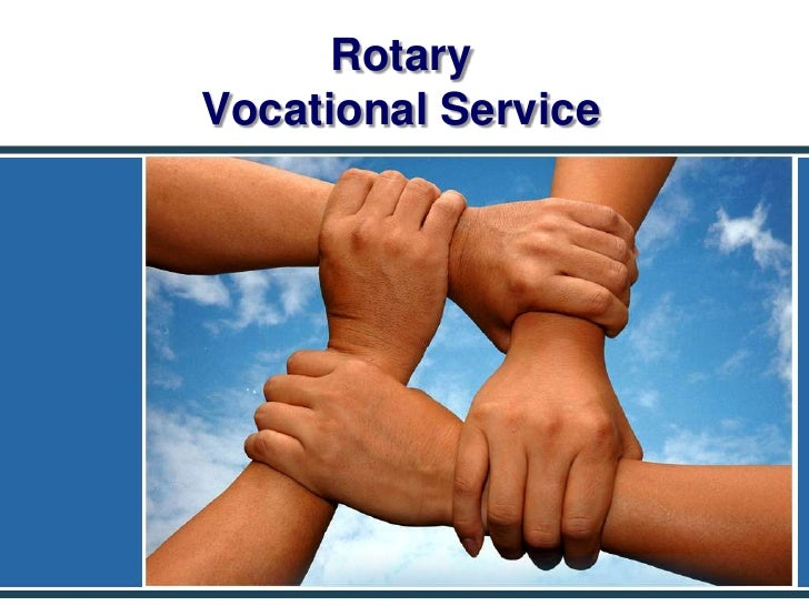 Rotary Vocational Service<br />